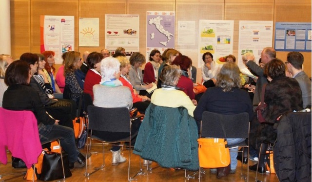 Exchanging experiences: Workshop at the Symposium in Vienna, April 2015