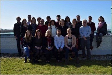 Members of the InSup-C consortium from Belgium, Germany, Hungary, Ireland, Netherlands, Spain and the UK. (Image courtesy of Anthony Greenwood)