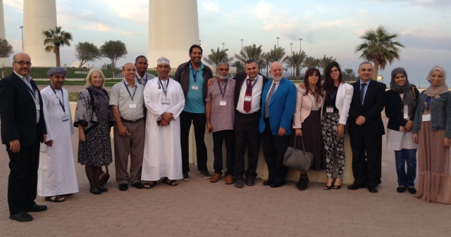 Participants at the WHO EMRO meeting in Kuwait, October 2015