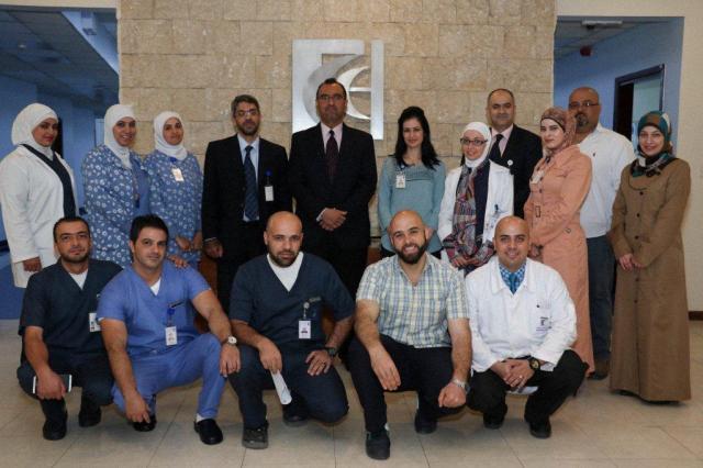 Palliative care interdisciplinary teams at KHCC