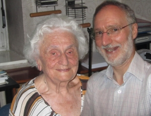 Anita Jušić with David Oliver