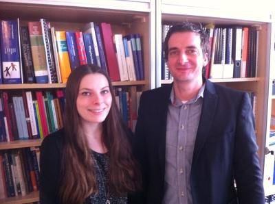 Gerrit Frerich and Heather Graham