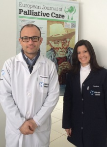 Left to right: Dr Santiago Rodríguez Corrêa and Carla Mazuko